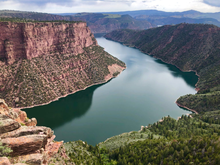 Flaming Gorge River Bend